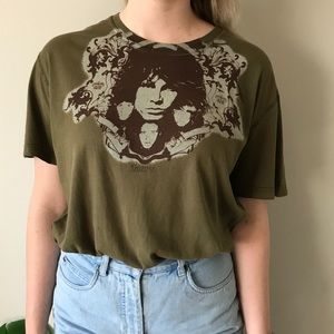 THE DOORS Vintage Graphic Short Sleeve Band Tee XL